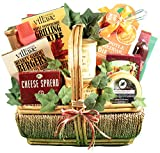 The Grill-Master, Deluxe - A Grilling Gift Basket For Men With BBQ Sauce, Rubs, Recipes, Nuts & More, 9 lb