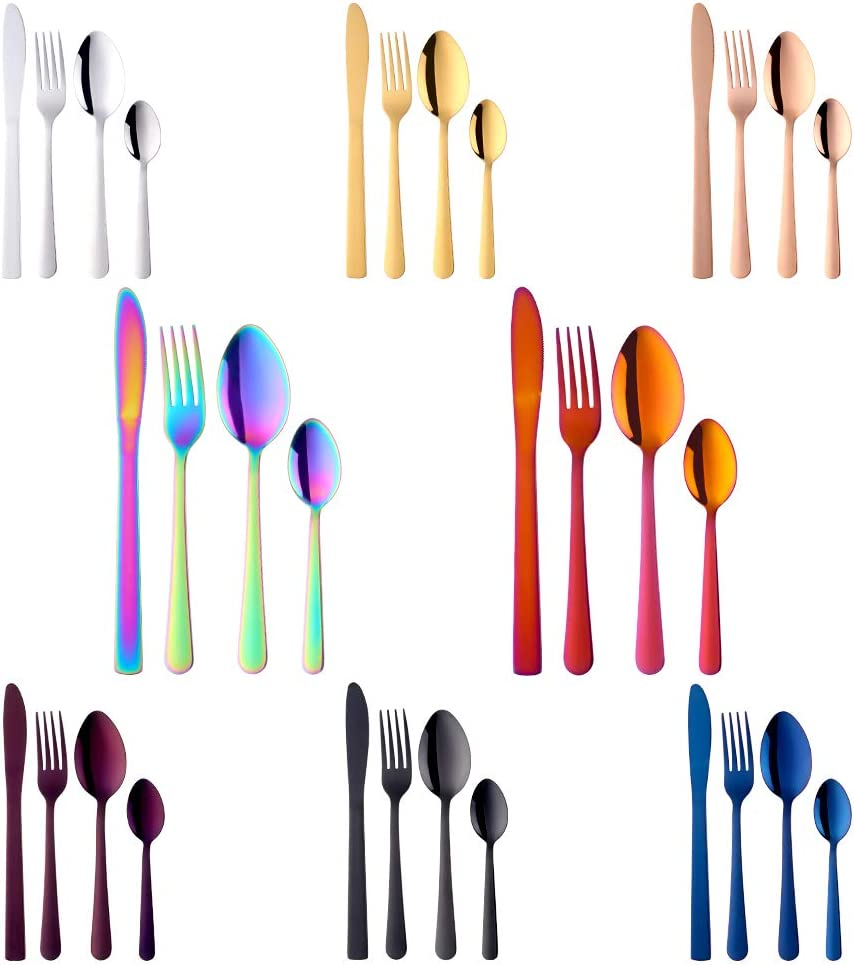 BuyGo 32pcs Silverware Stainless Steel Limited price Set Credence Tableware Di Flatware