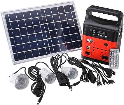 ZXLIFE@@ Generador Solar Portátil 10w Energía Al Aire Libre ...