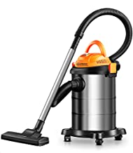 A Vacuum cleaner Aspirador de Bote con Bolsa de Alta Potencia de 1200 vatios, Mojado/seco/secador de Cabello Aspirador 3 en 1 con Capacidad de 15 l, Aspirador de asa silenciosa (Tamaño : Luxury)