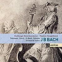 Bach, Telemann, Fasch, Zelenka: 4 Orchestral Suites by Freiburger Barockorchester
