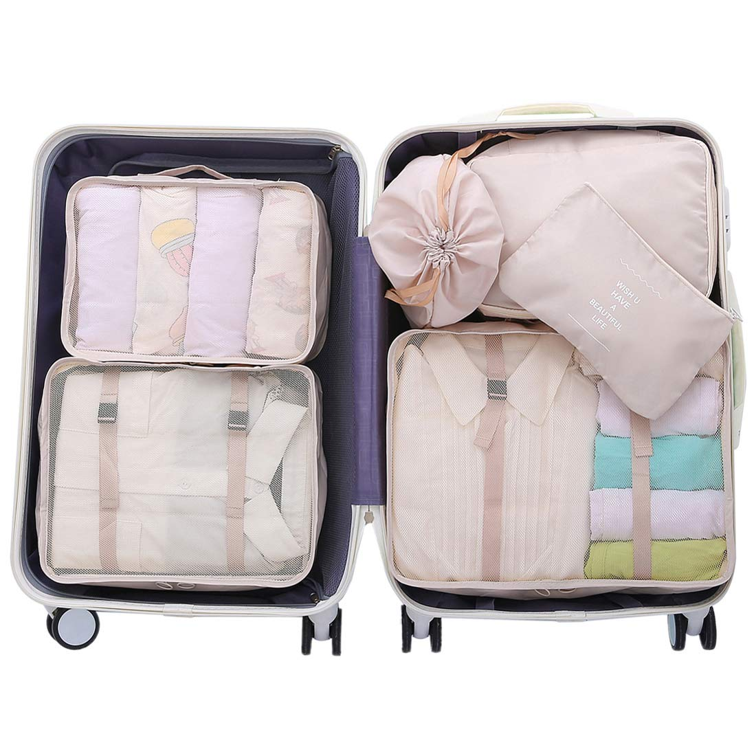 OEE Luggage Packing Organizers Travel