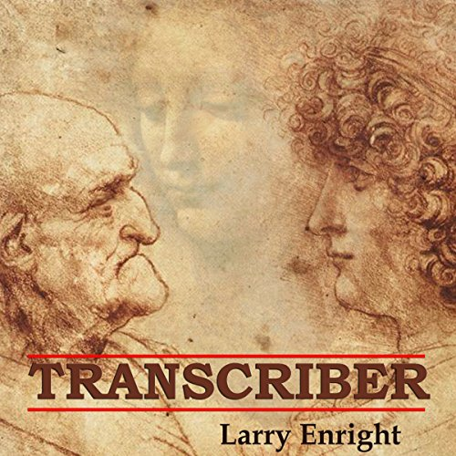 Transcriber audiobook cover art
