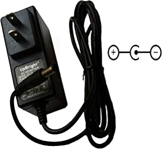UpBright 9V AC/DC Adapter for Ibanez Phaser TS5 TS10 TS9B PH7 AP7 PM7 DS7 SM7 DS SM 7 Smashbox Smash Box Analog Phase Modulator Jemini Distortion Bass Tube Screamer Guitar Effects Pedal Power Supply