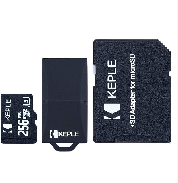 Tarjeta de Memoria MicroSD de 256GB Clase 10 Compatible con Canon EOS 6D 77D 100D 200D 1100D 1500D 1200D 60D 1300D 800D 750D 760D 80D 4000D 3000D 5Ds 5DsR Camera | Micro SD 256 GB
