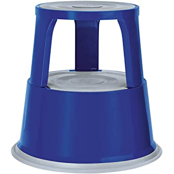capacidad de carga de 150 kg Taburete giratorio Office Collection RHM-B azul con certificado T/ÜV metal