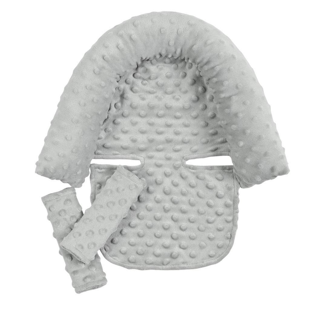 Portable Baby Head Support Don't miss the campaign Pillow Removable Covers Max 72% OFF Ea Strap Soft