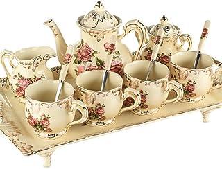 Set de 6 Pi/èces Alessi Gv27//88 Blu Rose Soucoupe Pour Tasse /à Caf/é-filtre en Porcelaine Blanche D/écor/ée