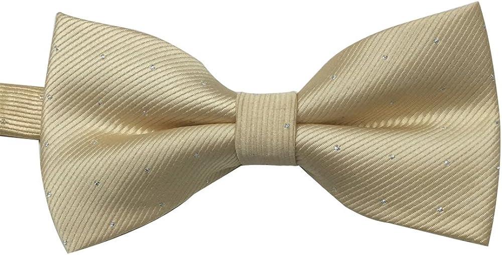 Mens Pre-tied Banded Tuxedo Bow Tie Bowtie