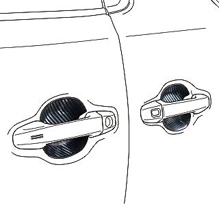 アルパイン(ALPINE) 新車計画 傷から守りドレスアップ効果も アルファード・ヴェルファイア(30系) 専用 ドアハンドルプロテクト(4枚セット/一台分) SSK-DR01AV