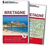 MERIAN live! Reiseführer Bretagne: Mit Extra-Karte zum Herausnehmen