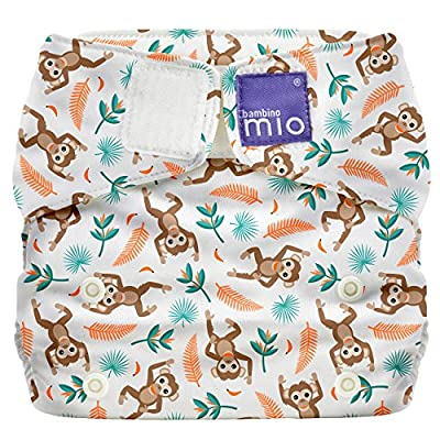 Bambino Mio Miosolo All-in-One Cloth Diaper, Spider Monkey