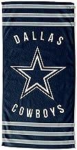 The Northwest Company NFL Dallas Cowboys - Toalla de Playa a Rayas, 76 x 152 cm, Azul, 76 x 152 cm