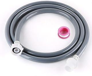 3//4 Lemonfilter Tuyau dalimentation 2,5 m pour tuyau dalimentation et lave-linge tuyau dalimentation deau froide avec bande PTFE de 6 m