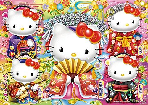 108-piece jigsaw puzzle Hello Kitty of kabuki princess (18.2x25.7cm)