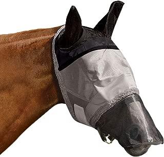 Got Flies Super Duty Mask Size Horse Silver
