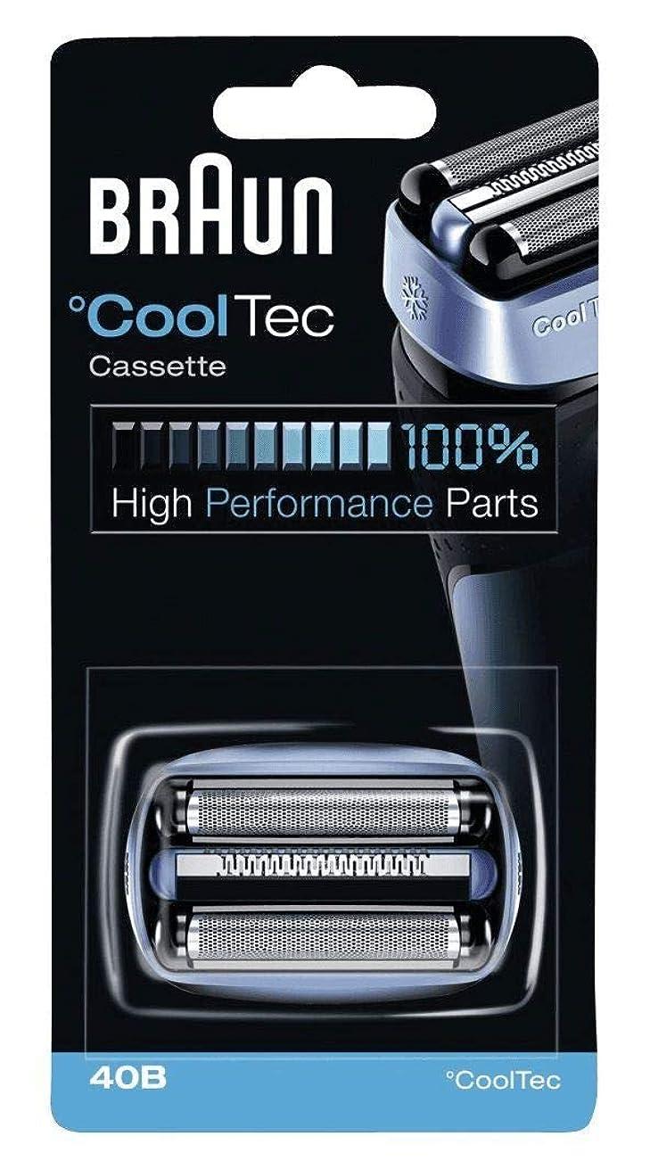 パットまつげ重さブラウン シェーバー Cool Tec(クールテック)用 網刃?内刃一体型カセット F/C40B 【並行輸入品】