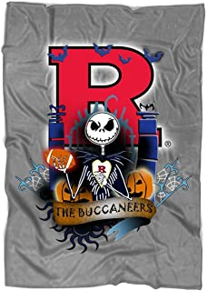 TOLETORE The Nightmare Before Christmas Blanket for Bed and Couch, Rutgers Scarlet Knights Blankets - Perfect for Layering Any Bed (Medium Blanket (60