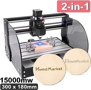 【2 en 1】CNC DIY 3018 Pro Max GRBL Control DIY Mini