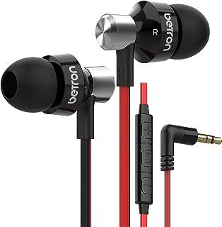 Betron DC950HI Auriculares con micrófono y Control de Volumen de Aislamiento de Ruido Auriculares con Cable Consejos En Au...