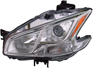 Headlight Replacement For Nissan Maxima Driver Left Side Lh 2009 2010 2011 2012 2013 2014 Headlamp Assembly