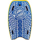 BullyBoard Original Inflatable 48' Bodyboard ~ Original High Pressure Board Built for Taller Riders up to 325 Lb's & Tandem Riders ~ 2 Handles Attached to Reinforced Core, 48 x 27 x 3.75