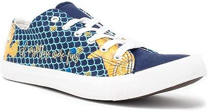Mermaid Wish These were Fins Sneakers | Cute Gym Tennis Shoe Women Men Little