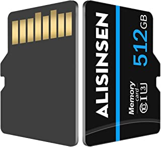 TF Card 512GB,Micro SD Card 512GB,High Speed Memory Card with A Free SD Card Adapter for Android Phones,Tablets,Camera(512GB)