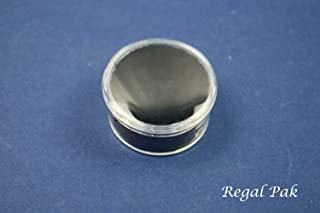 Regal Pak ® Clear Acrylic Round Gem Jar With Black Foam (One Dozen)