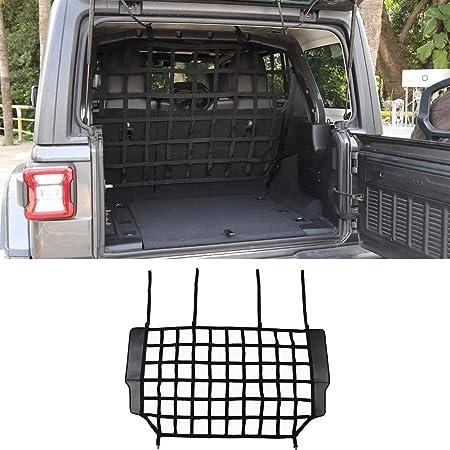 Car Trunk Isolation Net, Trunk Organizer Cargo Net for Jeep Wrangler JK and JL, JT 2007-2021
