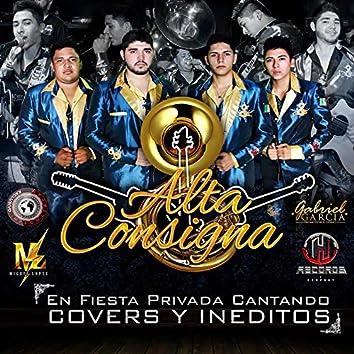 En Fiesta Privada Cantando Covers y Ineditos