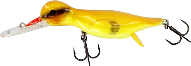 Westin DAD-295-080F Danny The Duck Hard Lure. Floating/Diving, Yellow