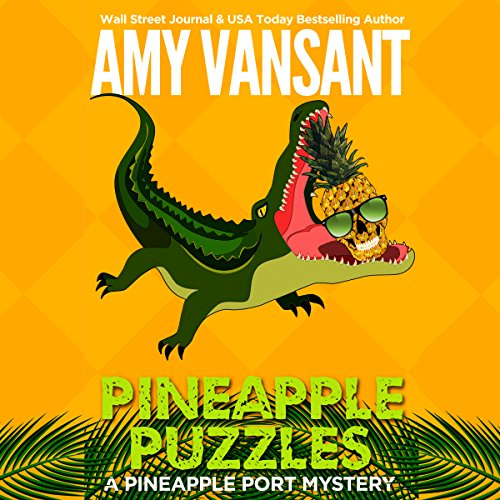 Pineapple Puzzles audiobook cover art