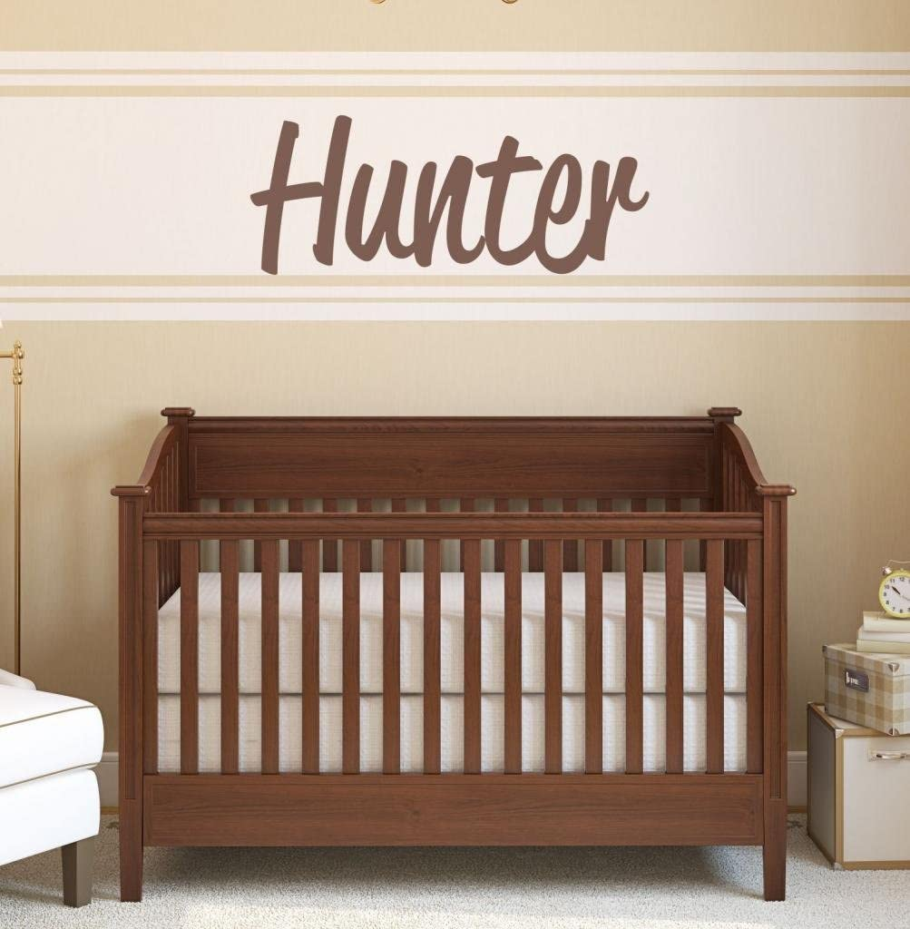 Outlet ☆ Free Shipping Boys Nursery Personalized Custom New life Name Wall Stick Vinyl Art Decal