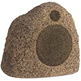 Stereostone Cinema Rock Outdoor Speaker 8 Inch Davinci Rock Speaker (Brown Sandstone)