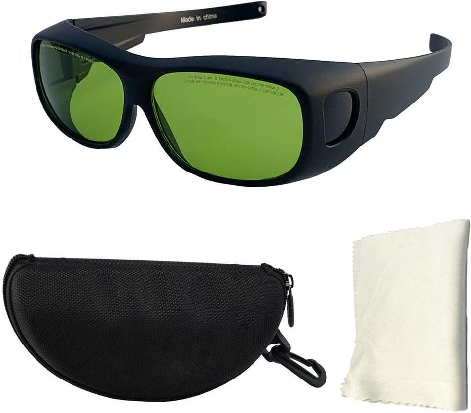 SMAA 190-450nm Profesional, 800-1700nm de Longitud de Onda, 0D4 + + OD6, IPL láser médico Marcado Gafas, Belleza Láser semiconductor de Alta Potencia de Las Gafas de Seguridad, protección UV