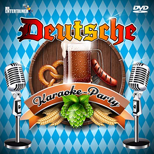 DEUTSCHE KARAOKE PARTY DVD. Partylieder. German Karaoke
