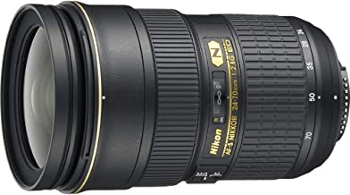 Nikon 24-70mm f/2.8G ED Auto Focus-S Nikkor Wide Angle Zoom Lens (Renewed)