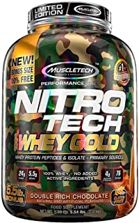 Nitro Tech Whey Gold - MuscleTech (2,5kg) Sabor: Chocolate