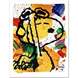 """Tom Everhart """"Salute Poster"""" PEANUTS Limited Edition Fine Art Print"""