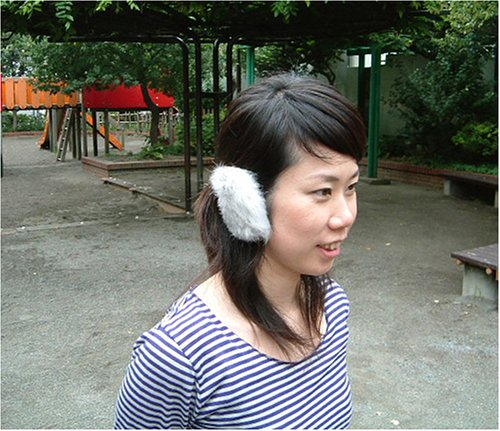 【正規輸入品】イヤーラックス耳あてシルバーラビットSMサイズTYESR-04