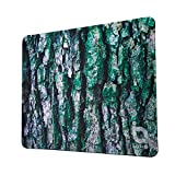 O ioPLUS Mouse Pad Gaming Mouse Pad with Stitched Edges, Premium-Textured Cloth, Non-Slip Rubber Base, 14.2x11.0 Inch (Tree Bark)