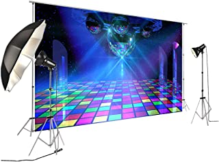 Disco Ballroom Dance Hall Banner for 80th 90's Party Decoration Backdrop Studio Photography FD-6169