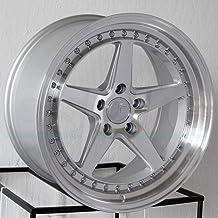 18x8.5 Aodhan DS05 DS5 5x114.3 35 Silver Wheel Rim