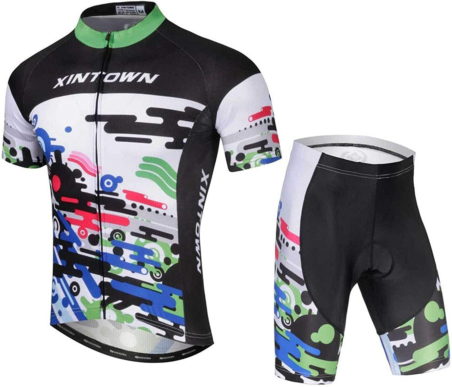 Summer Cycling Jersey Set Breathable Team Racing Sport Bicycle Jersey Mens Cycling Clothing Short Bike Jersey