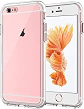 JETech Case Compatible with iPhone 6 Plus and iPhone 6s Plus 5.5-Inch, Shock-Absorption Bumper Cover, Anti-Scratch Clear B...