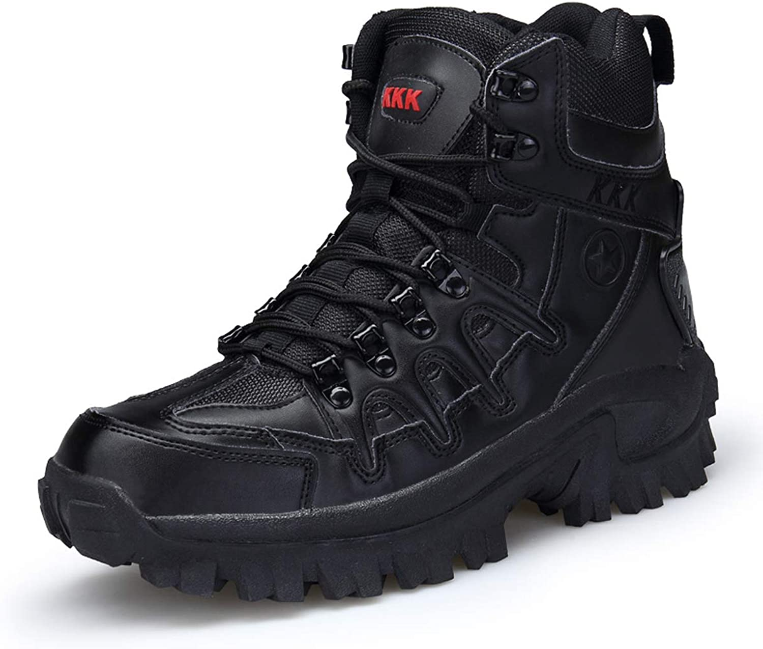 Men's Combat Boots 2019 Spring New High To Help Outdoor Security Boots Wear Strong Military Boots Non-slip
