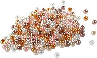 5mm rond transparent argent sterling perles intercalaires avec diamètre 1.5mm trou