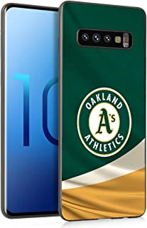 Slim Fit Galaxy S10 Case, Baseball Game Sports Thin Plastic Full Protection Matte Finish Grip Phone Cover Case for Samsung Galaxy S10 Black, Sep2 020