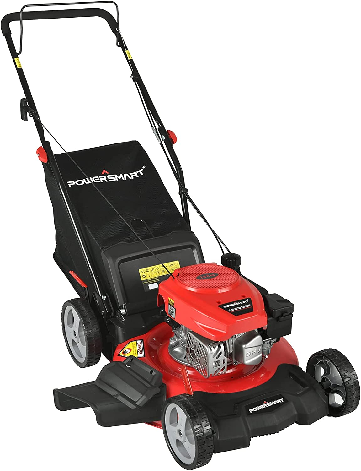 PowerSmart Push Lawn Wholesale Mower Gas NEW before selling ☆ Powered Inch 21 3-in-1 - Law